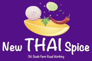 New Thai Spice Worthing Logo